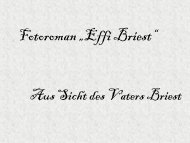 Fotoroman aus der Sicht von Mutter und Vater Briest - MSG Landau