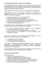 Hausaufgabenkonzept - MSG Landau