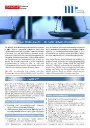 License Services für Oracle - MT AG