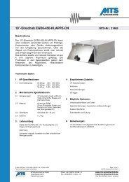 """19""""-Einschub EGD6-450-KLAPPE-CN - HF Technik"""