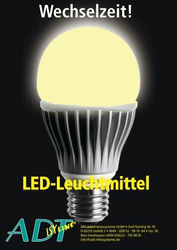 PDF Broschüre - LED - ADT Informationssysteme GmbH