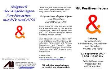 ' $&()* +,$/* )& 0-)&1 )23+ )&& 4/!&560&7)'&(689 - Münchner Aids ...