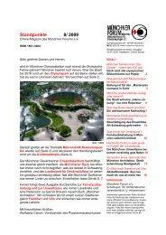 08/2009 - Münchner Forum