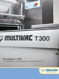 Traysealer T 300 - Als PDF downloaden - Multivac