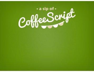 coffeescript slides