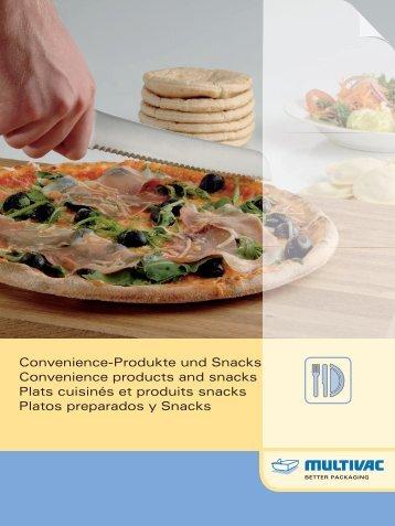 Convenience-Produkte und Snacks Convenience ... - Multivac