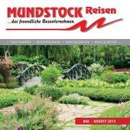 MAI - AUGUST 2013 - Mundstock Reisen GmbH