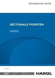 Technische fiche SP900 - Harol Projects