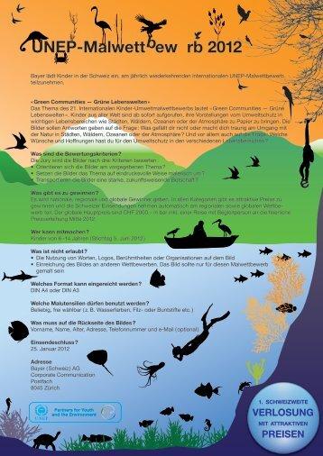 UNEP-Malwettbewerb 2012