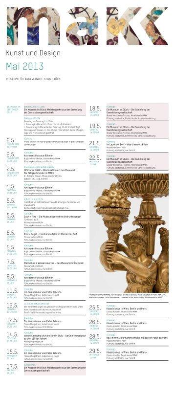 Mai 2013 - Museen in Köln