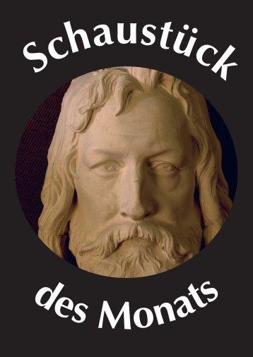 Abguss des Gesichts vom Standbild Albrecht Dürers in Nürnberg