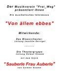 """Der Flyer ist hier als PDF erhältlich. - Musikverein """"Frei-Weg ... - Page 2"""