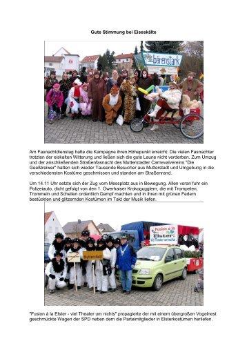 Faschingsumzug - Mutterstadt