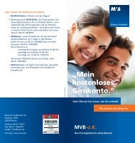 MVB-o.K.-Konto - Mainzer Volksbank eG