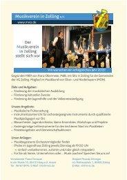 Flyer als PDF - Musikverein in Zolling eV