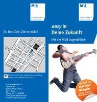 Flyer Jugendfiliale - Mainzer Volksbank eG