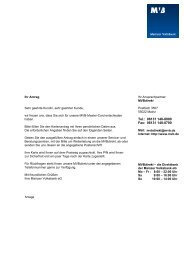Antrag MasterCard - Mainzer Volksbank eG