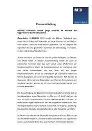 Diese Pressemitteilung als PDF herunterladen - Mainzer Volksbank ...