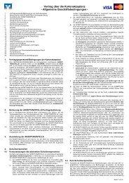 AGB Kartenakzeptanz und Infomaterial