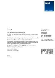 Mein MVB-Konto auf Onlinekonto comfort umstellen - Mainzer ...