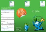 MVB KidsClub-Flyer - Mainzer Volksbank eG