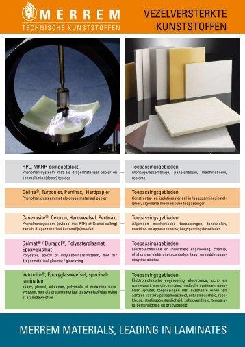 Vezelversterkte Kunststoffen - Merrem Materials