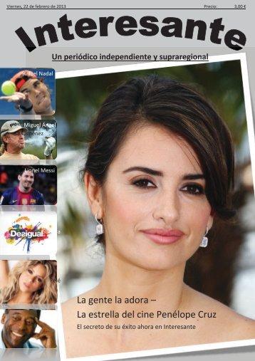 La gente la adora – La estrella del cine Penélope Cruz