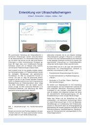 Entwurf und Aufbau von Prototypen - ATHENA Technologie ...