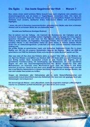 Die Ägäis - Das beste Segelrevier der Welt ... - mycharteryacht