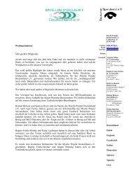 Weihnachtsbrief zum Herunterladen als PDF - Myelin Projekt ...