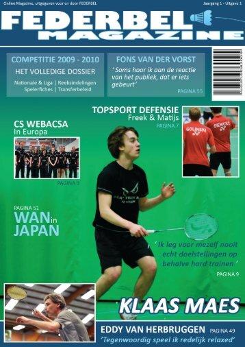 Federbel Magazine 200908.indd
