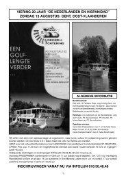 20ste jaargang 2-2006 - Home Page - DE NEDERLANDEN EN HISPANIDAD