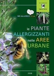 No Allergy Onlus. Le Piante Allergizzanti nelle Aree Urbane - SIRA