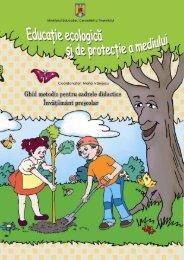invatamant prescolar - Educatie ecologica si protectia ... - ISJ Braila