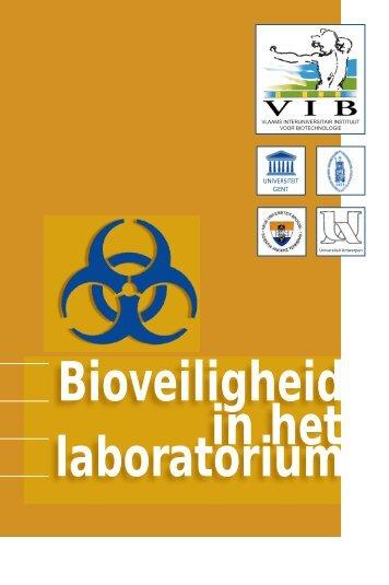 laboratorium Bioveiligheid in het