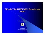 GUJARAT EARTHQUAKE : Enormity and I t I t Impact - Insurance ...