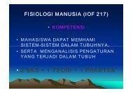 FISIOLOGI MANUSIA.pdf - Staff UNY