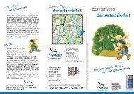 Faltblatt mit Übersichtsplan - NABU Bonn
