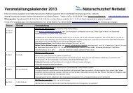 Download Veranstaltungsübersicht 2013 - NABU Krefeld/Viersen
