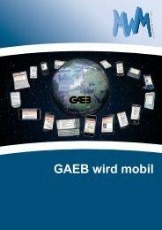 GAEB wird mobil - MWM Software & Beratung GmbH
