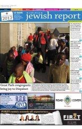 Great Park congregants bring joy to Diepsloot - South African Jewish ...