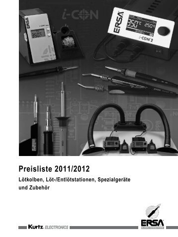 Preisliste 2011/2012 - Putty + Gausmann GmbH
