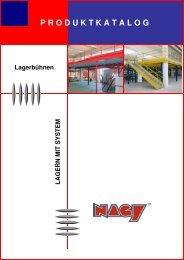 Lagerbühnen - NAGY® Regalsysteme