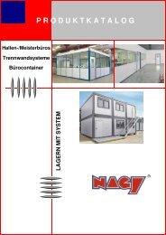 Hallenbüro - NAGY® Regalsysteme