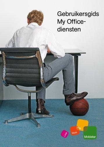 Gebruikersgids My Office- diensten - Mobistar