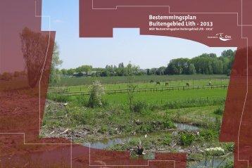 MER bestemmingsplan buitengebied Lith - 2013 - Gemeente Oss