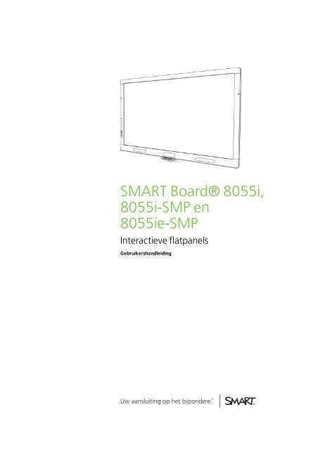 SMART Board 8055i, 8055i-SMP en 8055ie-SMP Interactieve ...