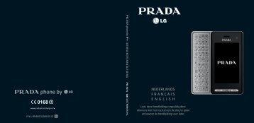 LG KF900 Prada - Gsmweb.nl