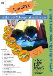 juni 2011 - Wijkraad Scheepmakersdijk