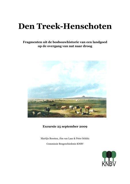 Excursiegids Den Treek 25sep2009 - Koninklijke Nederlandse ...